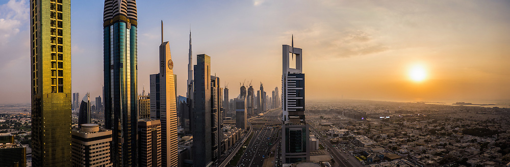 Dubai city view, United Arab Emirates