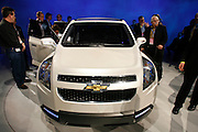 The Chevrolet Orlando seven-seat compact multi-purpose show car makes its North American debut Sunday, January 11, 2009 at the North American International Auto Show in Detroit, Michigan. General Motors North America President Troy Clarke announces a production version of the Orlando will be sold in the United States in 2011.