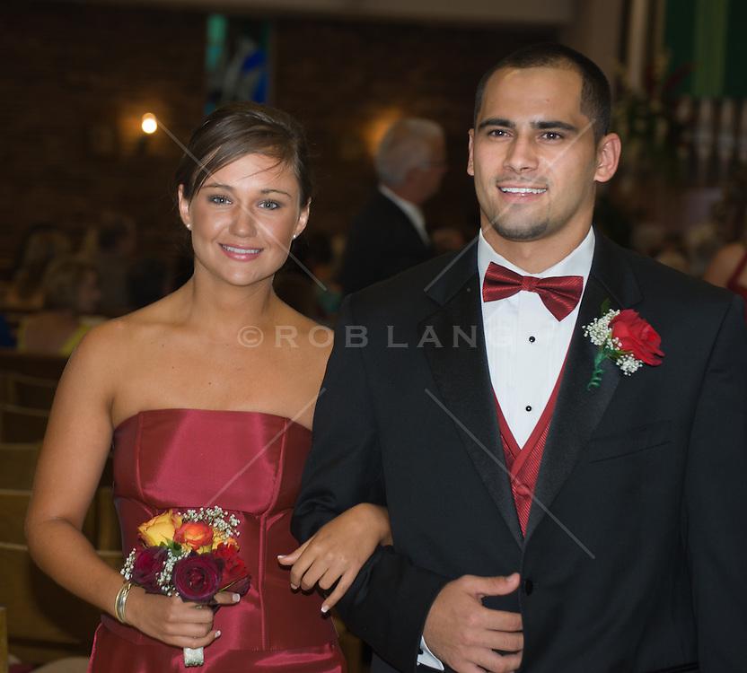 couple at a wedding reception