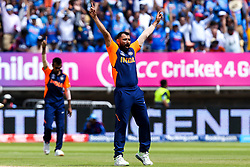 Mohammed Shami of India celebrates taking the wicket of Jonny Bairstow of England - Mandatory by-line: Robbie Stephenson/JMP - 30/06/2019 - CRICKET - Edgbaston - Birmingham, England - England v India - ICC Cricket World Cup 2019 - Group Stage