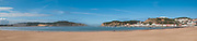 Seascape of the Bay of Sao Martinho do Porto a civil parish Alcobaca Municipality, Portugal