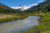 Eagle Cap and Lostine River, Eagle Cap Wilderness Wallowa Mountains Oregon