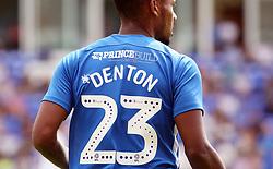 General view of the shirt detail of Tyler Denton of Peterborough United - Mandatory by-line: Joe Dent/JMP - 28/07/2018 - FOOTBALL - ABAX Stadium - Peterborough, England - Peterborough United v Bolton Wanderers - Pre-season friendly
