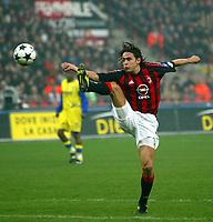 Milano 9/3/2003<br />Milan - Chievo 0-0<br />Filippo Inzaghi