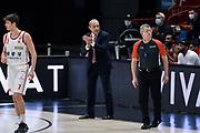 Messina Ettore <br /> A X Armani Exchange Milano - UNAHOTELS Reggio Emilia<br /> Legabasket Serie A UnipolSAI 2020/2021<br /> Milano, 17/01/2021<br /> Foto Ciamillo-Castoria/ Claudio Degaspari