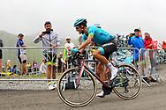 Jakob Fuglsang (DEN - Astana Pro Team) during the 105th Tour de France 2018, Stage 17, Bagneres de Luchon - Col du Portet (65 km) on July 25th, 2018 - Photo Kei Tsuji / BettiniPhoto / ProSportsImages / DPPI