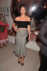Renee Stewart at the Tatler's English Roses 2017 party in association with Michael Kors held at the Saatchi Gallery, London England. 29 June 2017.