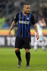 February 3, 2019 - Milan, Milan, Italy - Radja Nainggolan #14 of FC Internazionale Milano during the serie A match between FC Internazionale and Bologna FC at Stadio Giuseppe Meazza on February 3, 2019 in Milan, Italy. (Credit Image: © Giuseppe Cottini/NurPhoto via ZUMA Press)