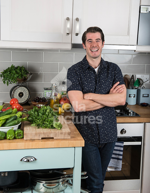 Chef and author John Gregory Smith pictured at his north London home.<br /> Picture by Daniel Hambury/Stella Pictures Ltd +44 7813 022858<br /> 30/07/2015