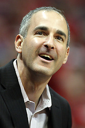 02 February 2013:  Illinois State Athletic Director Gary Friedman during an NCAA Missouri Valley Conference mens basketball game where the Salukis of Southern Illinois lost to the Illinois State Redbirds for Retro-Night 83-47 in Redbird Arena, Normal IL