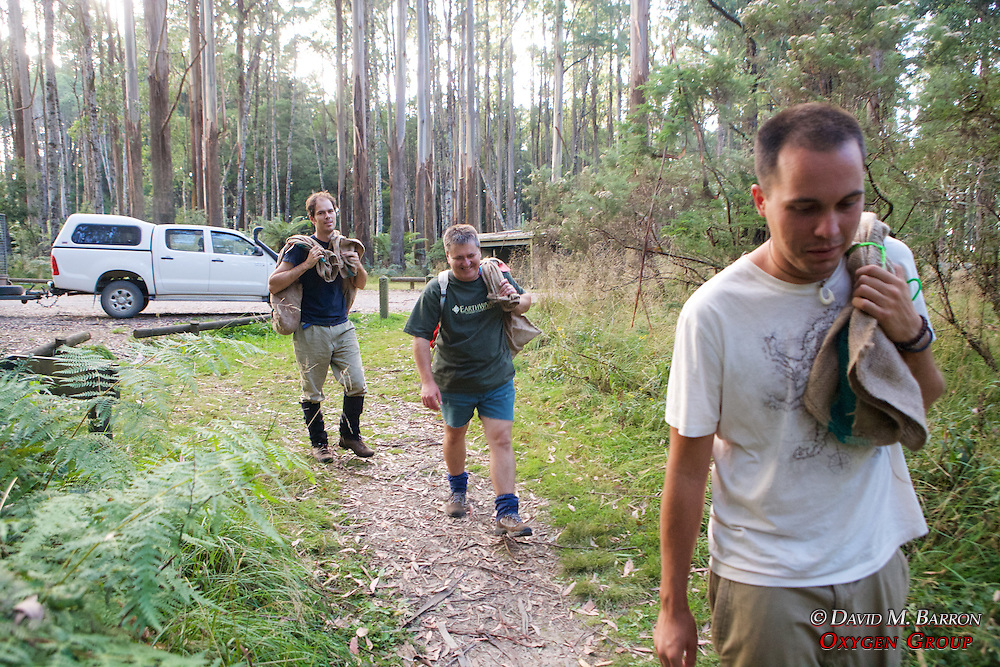 Chris, Kevin & Sam Heading To Release Possums