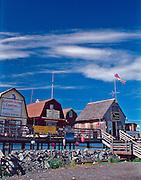 Alaska, boardwalk, Homer, Homer Spit, Place, Port of Call, restaurants, spit, stores, summer, tourist attraction, Town