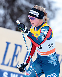 27.11.2016, Nordic Arena, Ruka, FIN, FIS Weltcup Langlauf, Nordic Opening, Kuusamo, Damen, im Bild Jessica Diggins (USA) // Jessica Diggins of the USA during the Ladies FIS Cross Country World Cup of the Nordic Opening at the Nordic Arena in Ruka, Finland on 2016/11/27. EXPA Pictures © 2016, PhotoCredit: EXPA/ JFK