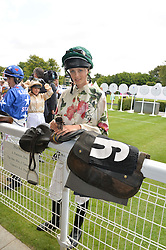 EDIE CAMPBELL at the 2014 Glorious Goodwood Racing Festival at Goodwood racecourse, West Sussex on 31st July 2014.