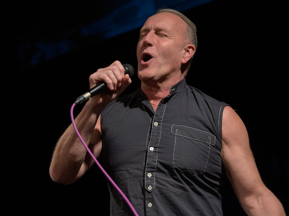 Irvine, Scotland, 19th January 20202. Punk legend Richard Jobson relives his days with Armory Show with a very intimate gig at The Harbour Arts Centre in Irvine.
