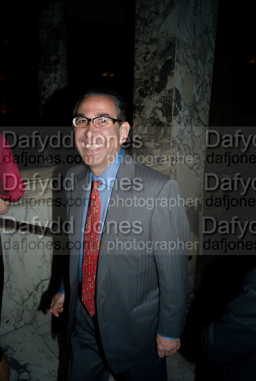 Prof David Khalili, Opening of Blood on Paper: the art of the Book. V & A. Museum. London. 14 April 2008. Afterwards there was a dinner hosted by Lady Foster.  *** Local Caption *** -DO NOT ARCHIVE-© Copyright Photograph by Dafydd Jones. 248 Clapham Rd. London SW9 0PZ. Tel 0207 820 0771. www.dafjones.com.