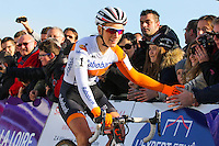 Pauline FERRAND PREVOT  - 11.01.2015 - Cyclo cross - Championnats de France Femmes - Pontchateau<br /> Photo : Vincent Michel / Icon Sport