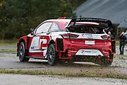 Kristian Poulsen Hyundai i20 Coupe WRC test - Tirstrup