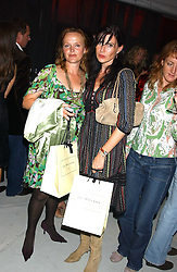 Left to right, Actress MIRANDA RICHARDSON and comedienne RONNIE ANCONA at a party hosted by Jo Malone - Pomegranate Noir, held at The Vinyl Factory, 45 Foubert's Place, London W1 on 15th September 2005.<br /><br />NON EXCLUSIVE - WORLD RIGHTS