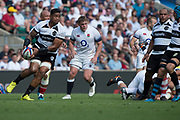 Twickenham, England, 27th May 2018. Quilter Cup, Rugby, Baa Baa's, Joe TEKORI, during the England vs Barbarians, Rugby Match at the RFU. Stadium, Twickenham. UK.  <br /> <br /> © Peter Spurrier/Alamy Live News