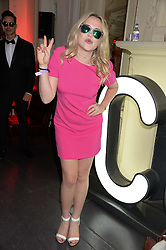 POPPY JAMIE at the Carrera Ignition Night at The House of St.Barnabas, Soho, London on 20th June 2013.