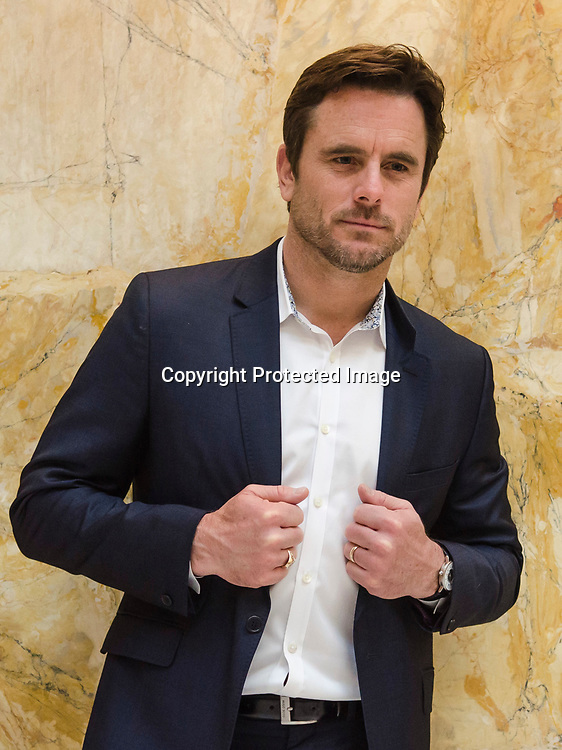"""Charles """"Chip"""" Esten poses for a portrait in Union Station on May 7, 2014 in Washington, DC."""
