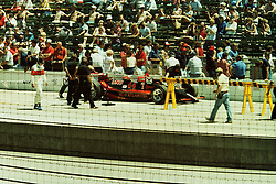 Indianapolis Time Trials, May 1987<br /> #44 - Davy Jones<br /> <br /> A scan from an old photo or slide from the collection of Alan and Becky Look dated 1987 and 1988.