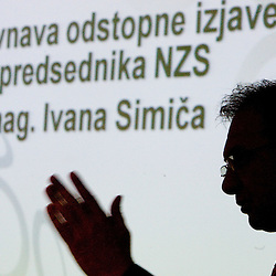 20100407: SLO, General Assembly of Slovenian Football Federation - NZS