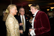 PRINCESS MICHAEL OF KENT; PEREGRINE KITCHENER-FELLOWES, Book launch for the book by Julian Fellowes 'Past Imperfect.' Cadogan Hall. Sloane Terrace. London. 4 November 2008 *** Local Caption *** -DO NOT ARCHIVE -Copyright Photograph by Dafydd Jones. 248 Clapham Rd. London SW9 0PZ. Tel 0207 820 0771. www.dafjones.com