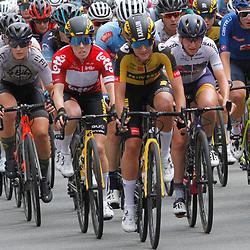 EEKLO (BEL) July 8 CYCLING: <br /> 1th Stage Baloise Belgium tour <br /> Peloton Karlijn Swinkels