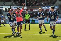 25.08.2013, Aafk v Start, Aalesund Colorline Stadion, Foto: Kenneth Hjelle Digitalsport, Lars Mendonca Fuhre - aalesund, Glenn Andersen,