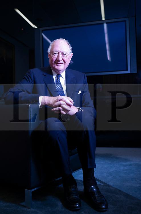 © Licensed to London News Pictures. 22/02/2013. London, UK. Bruno Schroder pictured at his London office. The billionaire head of his family's investment bank, has passed away aged 86. Photo credit: Ben Cawthra/LNP