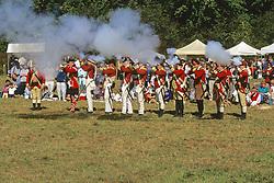 British Soldiers Reenactment