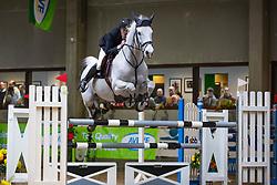 Konings Steven, BEL, Fidel<br /> Klasse Zwaar<br /> Nationaal Indoor Kampioenschap Pony's LRV <br /> Oud Heverlee 2019<br /> © Hippo Foto - Dirk Caremans<br /> 09/03/2019