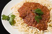 A plate of Spaghetti Bolognese