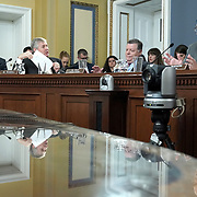 The House Rules Committee debates a bill about the impeachment inquiry during a markup on Wednesday, October 30, 2019.