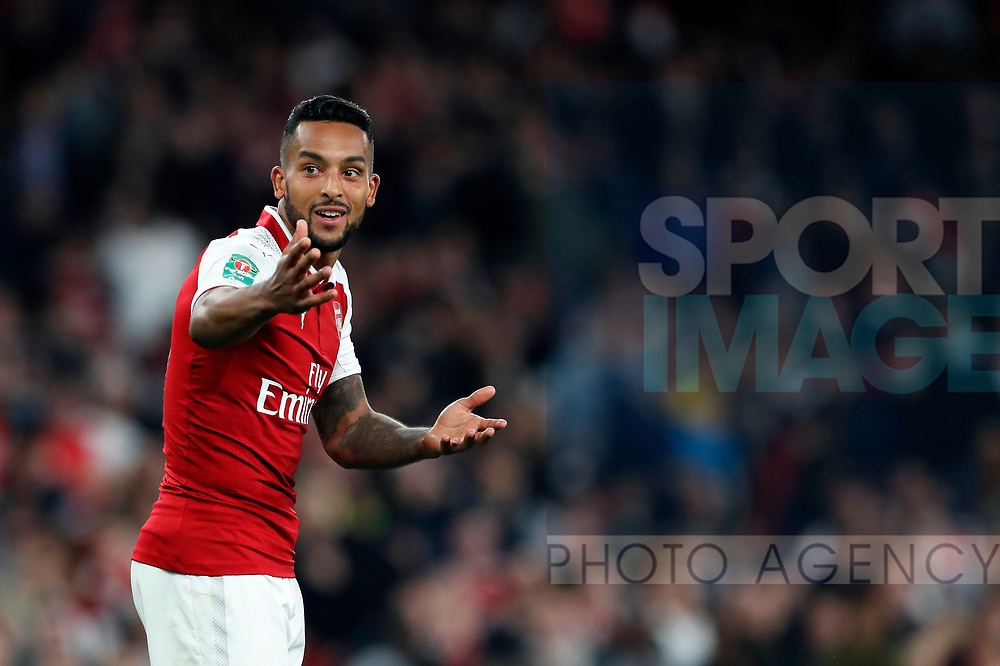 Arsenal's Theo Walcott in action during the Carabao Cup Third Round match at the Emirates Stadium, London. Picture date 20th September 2017. Picture credit should read: David Klein/Sportimage