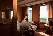 MILAN: few meters from MIilan Centra Station there is the 4 stars  Michelangelo Hotel, usually packed of tourists and business people, since two months has been transformed to host covid-19 positive patients, who has not a place where to spend their quarantine safely. Nico Donvito