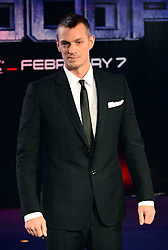 Joel Kinnaman attends The World Premiere of 'Robocop' UK film premiere, BFI IMAX, London, United Kingdom. Wednesday, 5th February 2014. Picture by Nils Jorgensen / i-Images