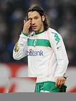 Fotball<br /> Tyskland<br /> Foto: Witters/Digitalsport<br /> NORWAY ONLY<br /> <br /> 07.02.2009<br /> <br /> Torsten Frings Bremen<br /> Bundesliga FC Schalke 04 - Werder Bremen 1:0