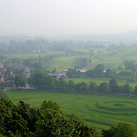 Europe, Great Britain, United Kingdom, Scotland. View from Stirling Castle.