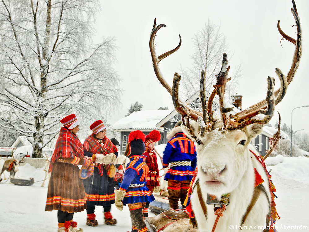 Photos from Jokkmokk and Sami Market, Arctic Sweden