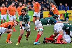 March 4, 2017 - Amsterdam, Netherlands - Francisco Pinto Magalhaes of Portugal during the Rugby Europe Trophy match between the Netherlands and Portugal at the National Rugby Centre Amsterdam on March 04, 2017 in Amsterdam, Netherlands  (Credit Image: © Andy Astfalck/NurPhoto via ZUMA Press)
