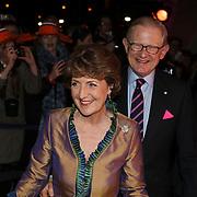 NLD/Apeldoorn/20080119 - Verjaardag Pr. Margriet 65 jaar, Margriet en partner Mr. Pieter van Vollenhoven