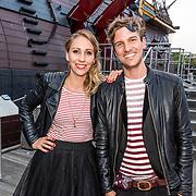 NLD/Amsterdam//20170522 - Film premiere  Pirates of the Caribbean, Saskia Weerstand en partner