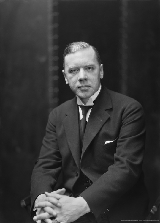 Dr. Anders Osterling, Swedish Poet and Author, 1926