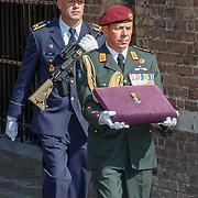 NLD/Den Haag/20180831 - Koninklijke Willems orde voor vlieger Roy de Ruiter, aankomst van  e Militaire Willems Orde