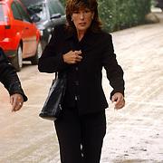 NLD/Laren/2005005 - Begrafenis Roy Beltman, Carola Smit