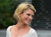 © Licensed to London News Pictures. 20/05/2013. London, UK Actress Emilia Fox. Press day at Chelsea Flower Show 2013. The centenary edition of the show attracts large number of visitors and is already sold out before opening day. Photo credit : Stephen Simpson/LNP