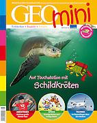 GEOmini August 2010 - Arribada - olive ridley sea turtle (Lepidochelys olivacea) | Oliv-Bastardschildkröten